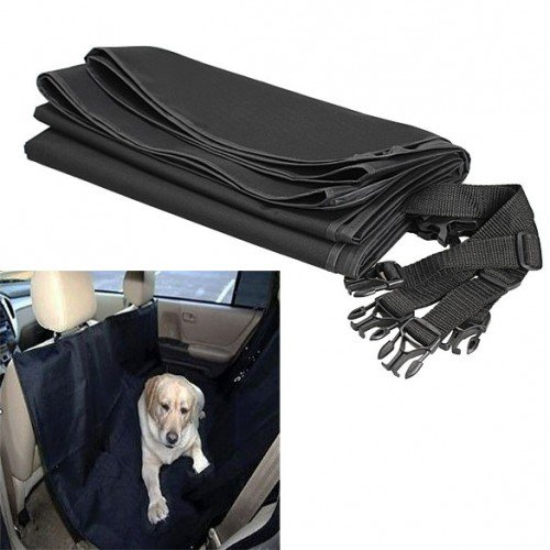 Samati Dog Pet Cradle Cover Mat Blanket Hammock Cushion Protector Car Rear Back front-879191