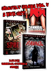 Ghastly Grabs Vol. 5 - 3 DVD Movies (Cannibal Suburbia, Spree, Ravage)