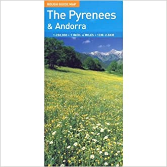 The Rough Guide to Pyrenees & Andorra Map (Rough Guide Country/Region Map)