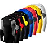 Men's Boys TCA SuperThermal Compression Base Layer Top Long Sleeve Thermal Under Shirt