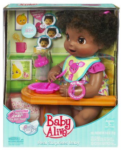Baby Alive Real Surprises Interactive 16 Quot Doll African