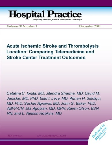 Acute Ischemic Stroke and Thrmobolysis Location: Comparing Telemedicine and Stroke Center Treatment Outcomes (Hospital Practice)
