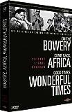 echange, troc Coffret 3 DVD Lionel Rogosin : Africa ; Bowery ; Wonderful Times