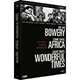 Coffret 3 DVD Lionel Rogosin : Africa ; Bowery ; Wonderful Timespar Gorman Hendricks