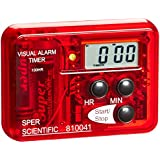 Sper Scientific 810041 Compact Visual and Audible Alarm Timer