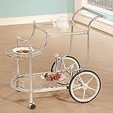 Coaster Home Furnishings 910076 Serving Cart, Chrome