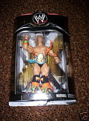 Buy Low Price Jakks Pacific WWE Classic Series 7 Ultimate Warrior Collector Wrestling Figure (B001OGL2XI)