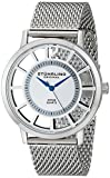 Stuhrling Original Mens 388M.01 Winchester Swiss Quartz Transparent Watch