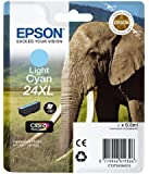 Epson 24XL Series Elephant Ink Cartridge - Light Cyan