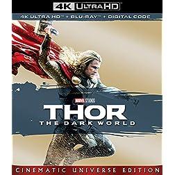 THOR: THE DARK WORLD [4K Ultra HD + Blu-ray]