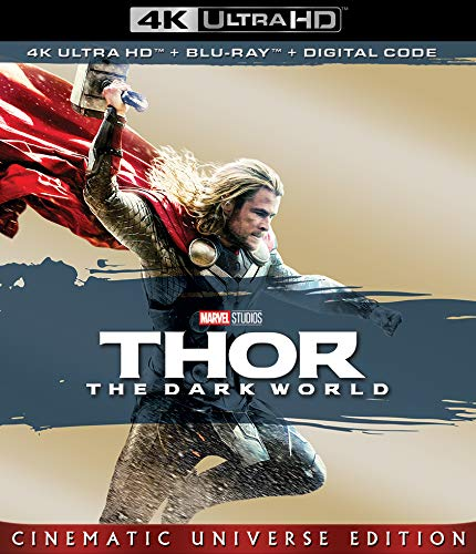 4K Blu-ray : Thor: Dark World (2 Discos)