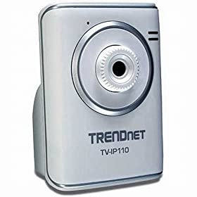 TRENDnet SecurView Internet Surveillance Camera TV-IP110 (Silver)