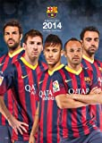 Official Barcelona 2014 Calendar (Calendars 2014)
