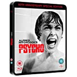 Psycho - 50th Anniversary Special Edition Steelbook [Blu-ray] [1960] [Region Free]by Alfred Hitchcock