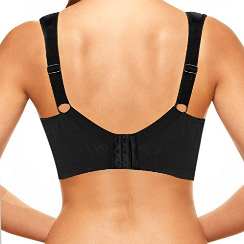 Ekouaer women 39 s 18 hour most comfortable wirefree bra with for Most comfortable t shirt bra