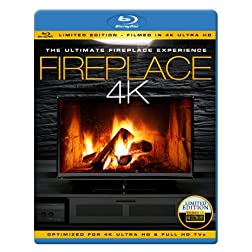 FIREPLACE 4K - The Ultimate Fireplace Experience [Blu-ray]