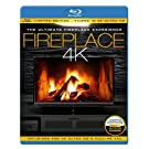FIREPLACE 4K - The Ultimate Fireplace Experience (Limited Edition - Filmed in 4K ULTRA HD) [Blu-ray]