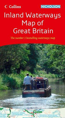 Inland Waterways Map of Great Britain (Collins/Nicholson Waterways Guides) PDF