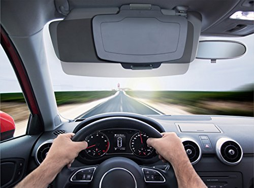 car sun visor extender by sunset front side window sun shield shade for cars trucks. Black Bedroom Furniture Sets. Home Design Ideas