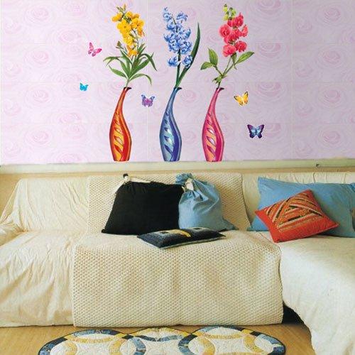 Wall Deco Sticker FLOWER VASE 238-CP061