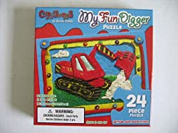 My Fun Digger 24 Piece Childs Puzzle