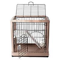 "Favorite 2-Tier Luxury Cat Metal Crate Cage, 2 Doors, 34"" by 22"" by 34"""
