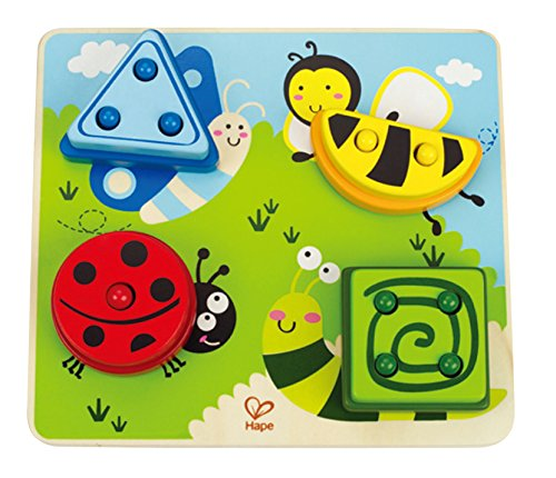 Hape Early Explorer Build-A-Bug Sorter Puzzle