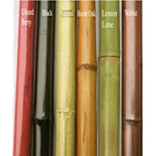 Green Floral Crafts Bamboo Poles 6' by 1/2