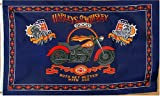 Harley and Whiskey Flag - 3 foot by 5 foot Polyester (NEW)