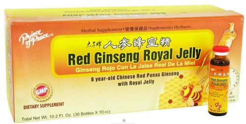 Prince Of Peace Red Ginseng Royal Jelly 30X10 Cc