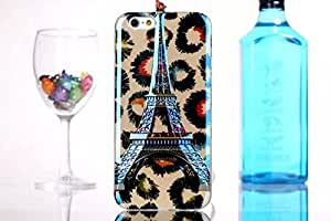 For Apple iphone 5 5s 5G SE Eiffel Tower 3D Embossed Soft TPU Back Case Cover