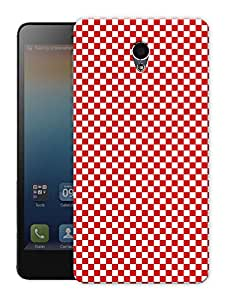 """Checkered Life Chess Board Red Printed Designer Mobile Back Cover For """"Lenovo S860"""" By Humor Gang (3D, Matte Finish, Premium Quality, Protective Snap On Slim Hard Phone Case, Multi Color)"""