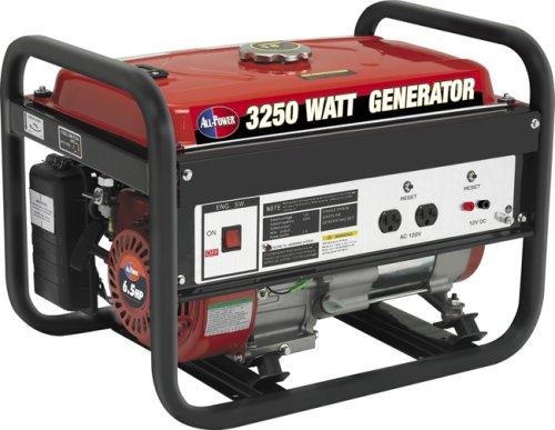 All Power America All Power America APG3012 3,250 Watt 6.5 HP OHV 4-Cycle Gas Powered Portable Generator