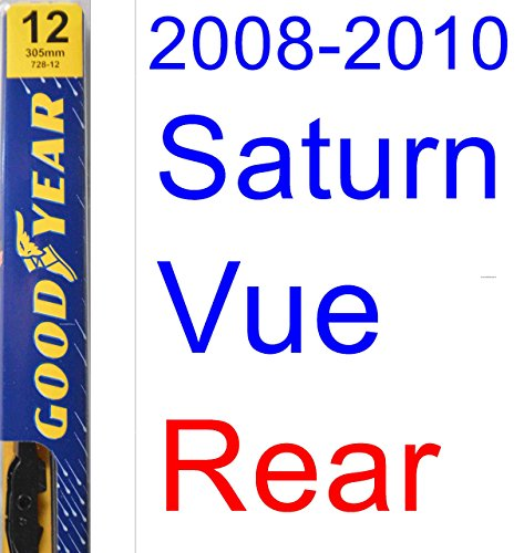 2008-2010 Saturn Vue Wiper Blade (Rear) (Goodyear Wiper Blades-Premium) (2009) (Saturn Vue Wiper Blades compare prices)