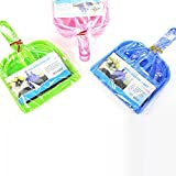 Kinghard Mini Desktop Sweep Cleaning Brush Small Broom Dustpan Set (Blue)