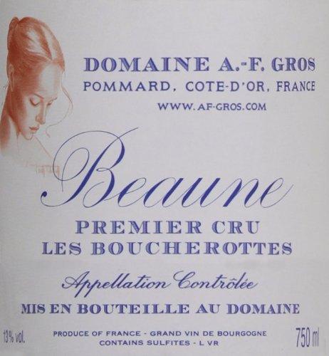 2009 Domaine A.-F. Gros Beaune Les Boucherottes Burgundy Pinot Noir 750 Ml