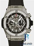 [ウブロ]HUBLOT 腕時計 ビッグバン ウニコ チタニウム ダイヤモンド グレースケルトン 411.NX.1170.RX.1104 メンズ [並行輸入品]
