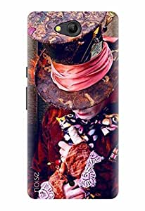 Noise Designer Printed Case / Cover for Lyf Wind 4 / Patterns & Ethnic / Joker Design