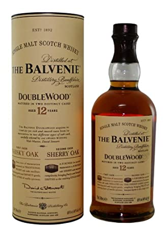 The Balvenie Doublewood 12 Year Old Single Malt Scotch Whisky - 70cl