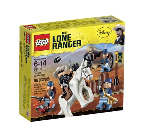 51ElYv%2Bm3mL LEGO The Lone Ranger Cavalry Builder Set (79106)
