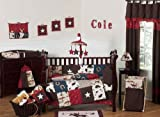 Wild West Western Horse Cowboy Baby Boy Bedding 9pc Crib Set by Sweet Jojo Designs