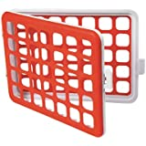 OXO Tot Mini Silicone Dishwasher Basket, Orange (Discontinued by Manufacturer)