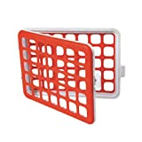 OXO Tot Mini Silicone Dishwasher Basket -- Ideal for Baby Bottle Accessories / Teats / Nipples Cleaning