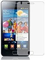 6 x Films de protection d'écran pour Samsung i9100 Galaxy S2 - Anti-Reflet (Mat), Résistant aux éraflures, Emballage d'origine