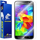 ArmorSuit MilitaryShield - Samsung Galaxy S5 Screen Protector Anti-Bubble Ultra HD - Extreme Clarity & Touch Responsive Shield with Lifetime Free Replacements - Retail Packaging