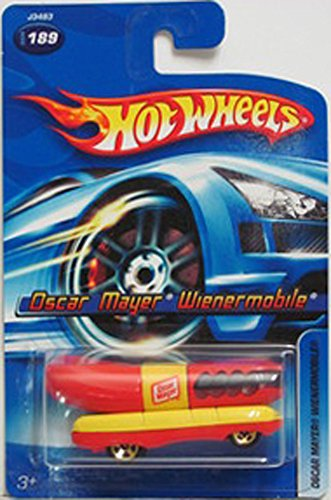 2006-189-oscar-mayer-weinermobile-mattel-hot-wheels-diecast-collectibles-collector-car-by-hot-wheels