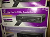 GE VG4273 video player recorder VCR VHS 4 head