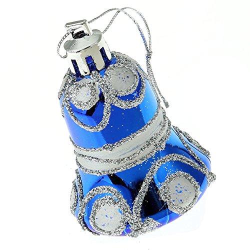 Yerwal pcs shining glitter powder jingle bell