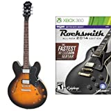 Epiphone Dot Archtop Electric Guitar with Rocksmith 2014 for Xbox 360