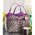 Back to School: Teen Girls Leopard Print Insulated Lunch Tote